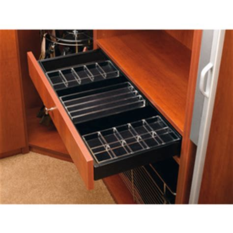 Rev A Drawer by Shop Rev A Shelf Large Undermount Jewelry Drawer At Lowes