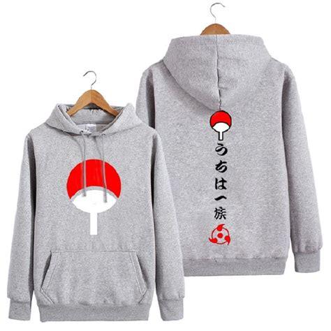 Clan Uchiha Madara Rompi Vest Hoodie Jaket Konoha Anime uchiha clan hoodie with japanese characters