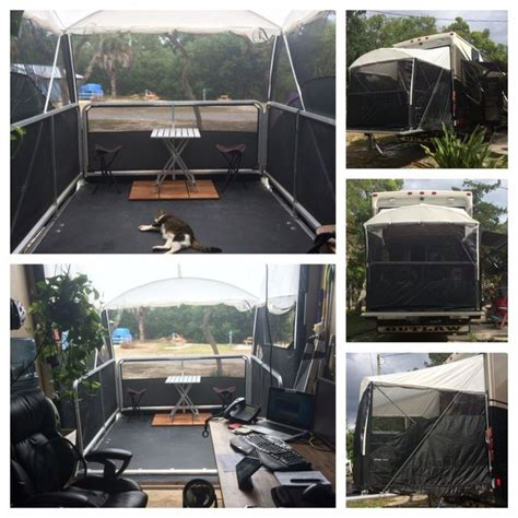rv patio rooms 17 best ideas about hauler on hauler rv hauler trailers and hauler