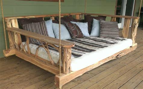 futon selber bauen porch swing bed