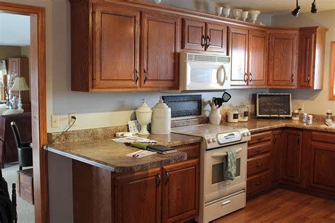 Kitchen Cabinets Redone How To Redoing Kitchen Cabinets Ward Log Homes