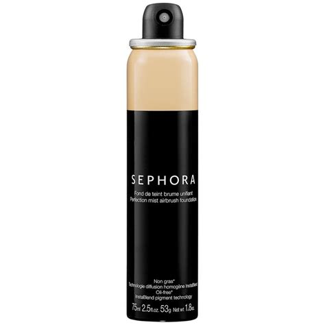 Sephora Foundation sephora collection perfection mist airbrush foundation