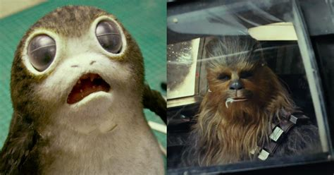wars the last jedi chewie and the porgs books porgs may be food not friends in the last jedi