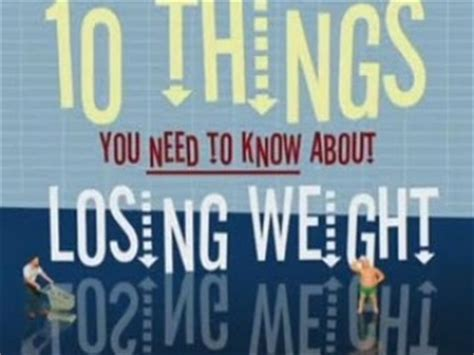10 Things You Will Need For Fast Weight Loss by Eat Fast And Live Longer Documentary Heaven