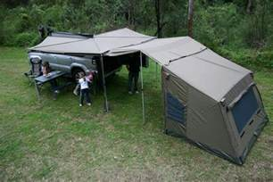 Roof Mounted Awnings Oz Tent Foxwing Awning Buy Online From Outdoor Geek