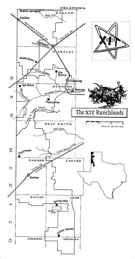 ranch texas map 17 best images about xit ranch barbed wire fences on acre the western and cattle