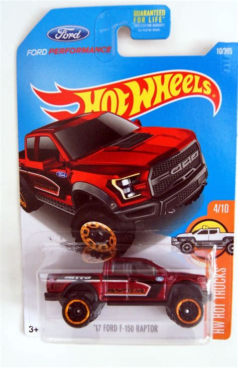 2017 Ford F 150 Raptor Pickup 1:64 Scale Model From HW Hot