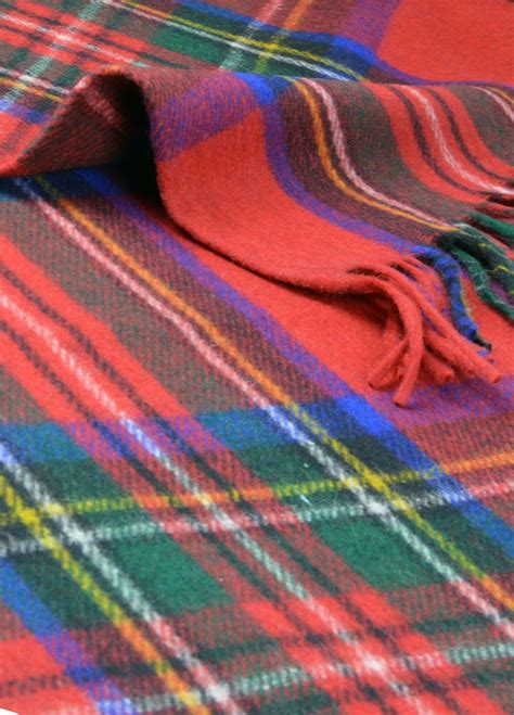scottish cushions throws and rugs new classic scottish wool tartan blanket throw rug gift various tartans ebay