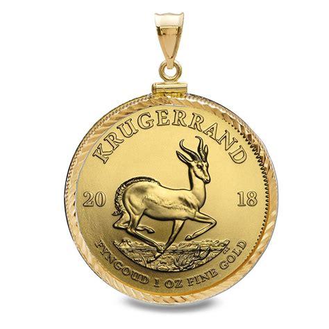1 Oz Silver Bar Bezel by Buy 2018 1 Oz Gold Krugerrand Pendant Screwtop