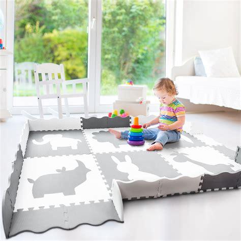 best baby foam play mat large 5 215 7 non toxic foam play mat weegiggles