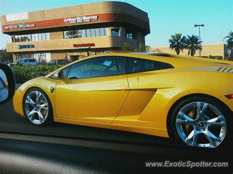 Lamborghini Oc Lamborghini Gallardo Spotted In Orange County California