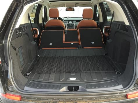 land rover discovery sport rear seats fold review 2015 land rover discovery sport ny daily news