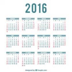 Webcid Calendario 2018 2016 Calendario Plantilla Descargar Vectores Gratis