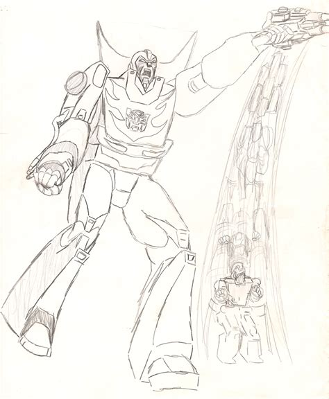 Sketches I Dig The by Digging Up My Transformers Drawings