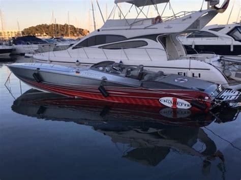 cigarette boat for sale spain cigarette 39 top gun unlimited for sale in spain for 480 000