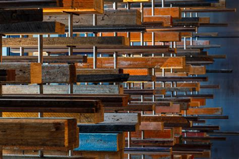 woodworking canberra march studio suspends 2 000 flying pieces of