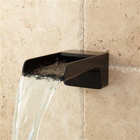 bathtub water spout jaxson waterfall tub spout tub faucets bathroom
