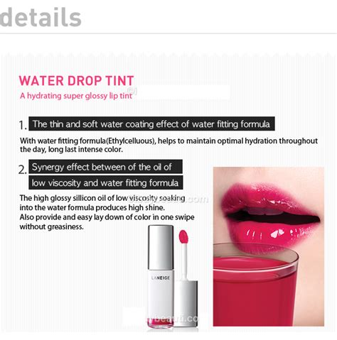 Laneige Water Drop Tint review laneige water drop tint beautifulbuns a