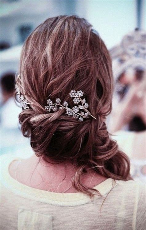 Wedding Hairstyles Side Swept Side Swept Wedding Hairstyle Hair Styles