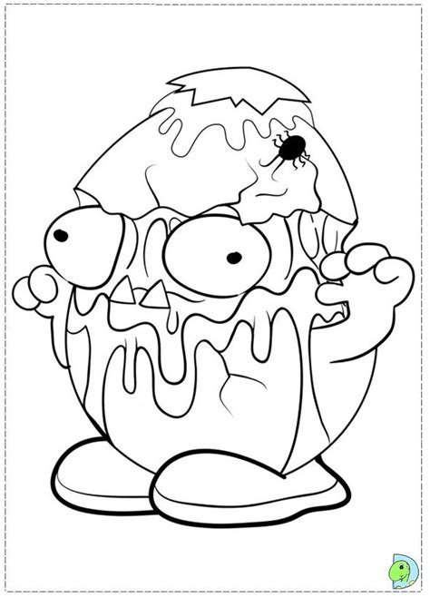 coloring pages download pack the trash pack coloring page coloring home