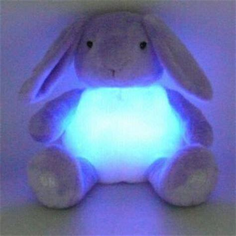 light up connecting toys novelty plush bunny light up toys battery operated on