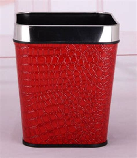 red bathroom trash can 17 best images about red gold bathroom wastebasket on