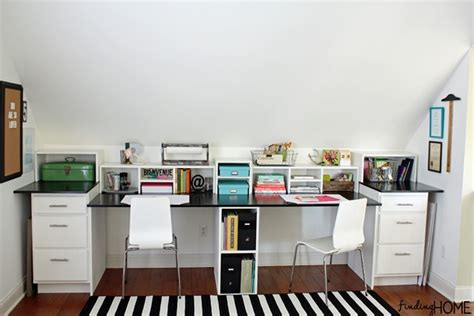 built in desks for home office easy diy built in desk tutorial finding home farms