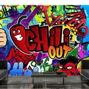 Wall Mural Graffiti non woven huge photo wall mural art print graffiti 10110905 11 ebay