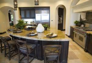 Curved Island Kitchen Designs by 64 Deluxe Custom Kitchen Island Designs Beautiful