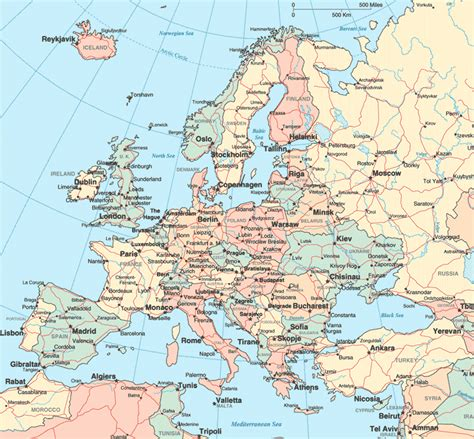 road map of europe europe road map europe map roadmap map all