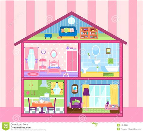 dollhouse images doll house furniture clipart clipground