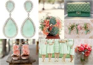 mint green wedding peachy coral mint green wedding ideas on san diego mint green and bouquets