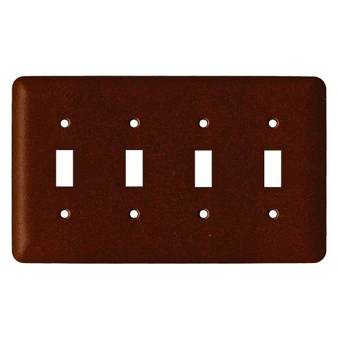 switch plate covers commercial grade toggle steel switch plate cover