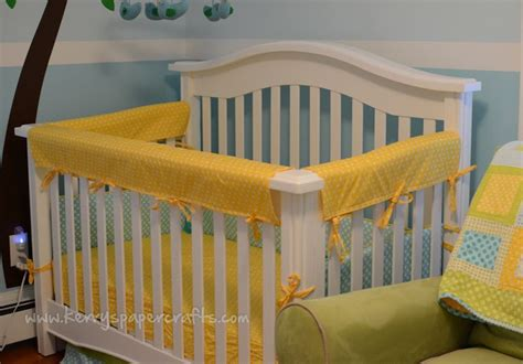 Diy Crib Rail Cover by Crib Rail Covers Nursery