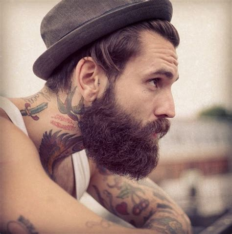 beards and tattoos with beard and tattoos