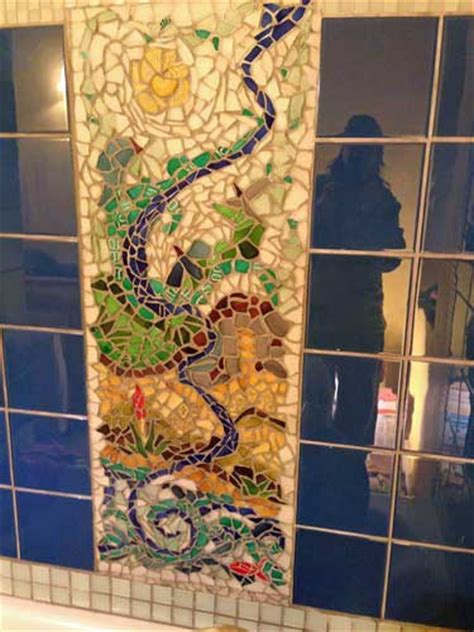 Mosaic Tile Backsplash Kitchen Ideas Backsplashes Showers And Countertops Mosaic Art Supply