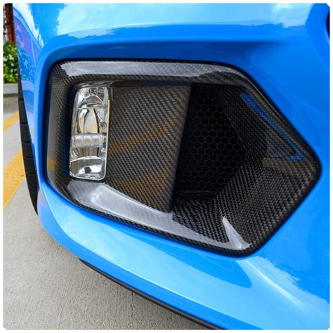 ford focus light cover replacement ford focus rs carbon fiber fog light bezel replacement