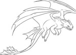 Awesome Night Fury Drawing In How To Train Your Dragon Coloring Pages sketch template