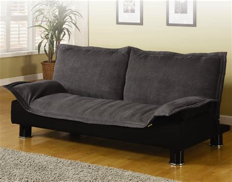 gray microfiber sofa gray microfiber sofa bed by coaster 300177