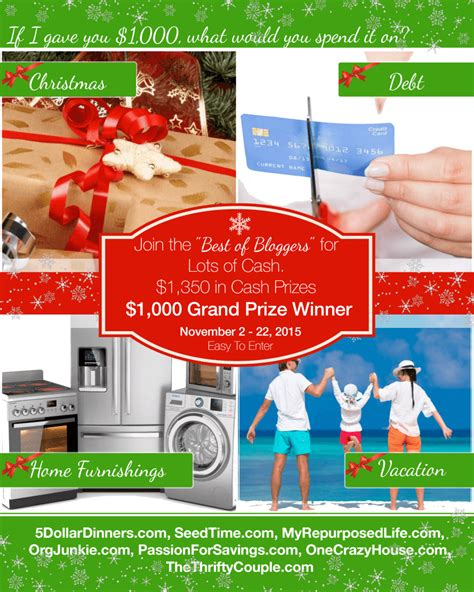 Win Cash Giveaway - christmas cash giveaway enter to win 1350 in prizes