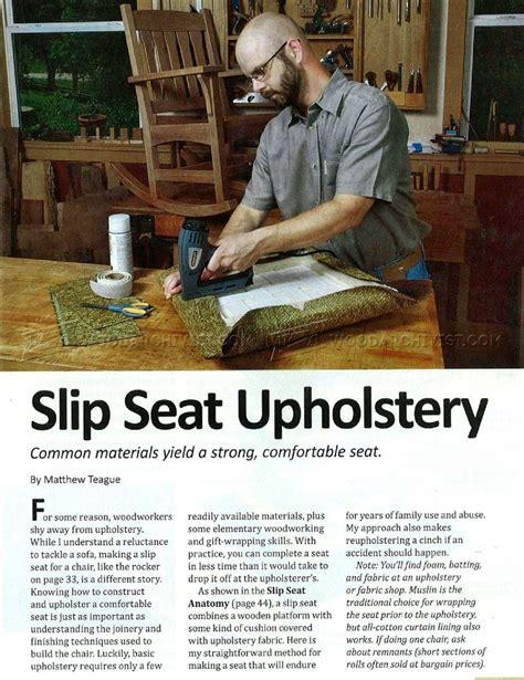 arts crafts rocking chair plan woodarchivist