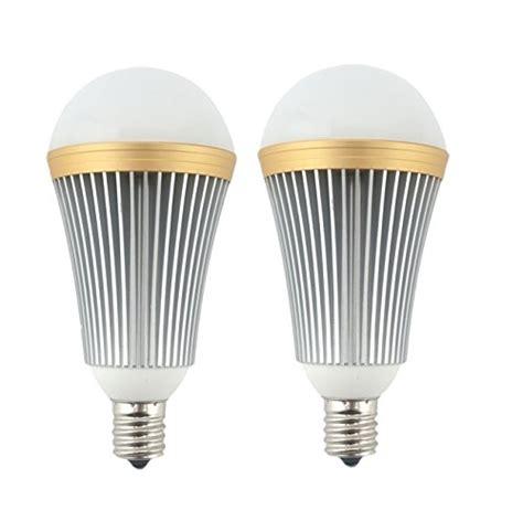 Bonlux E17 Edison Led Light Bulb 7 Watts 650lm 120 Volts E17 Intermediate Base Led Light Bulbs