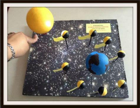ejemplos de maqueta para las fases lunares las 25 mejores ideas sobre fases de la luna en pinterest