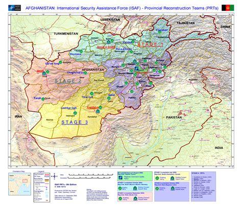 map of af isaf maps