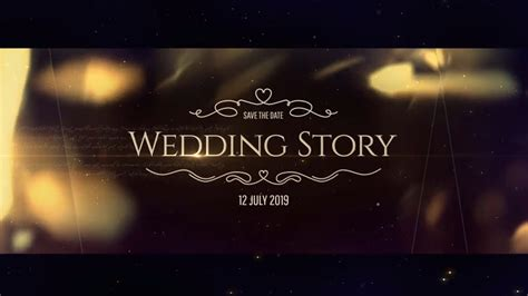 after effects template free download wedding pack