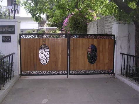 design of front gate of house various design of front gate home and house boundary wall main collection pictures
