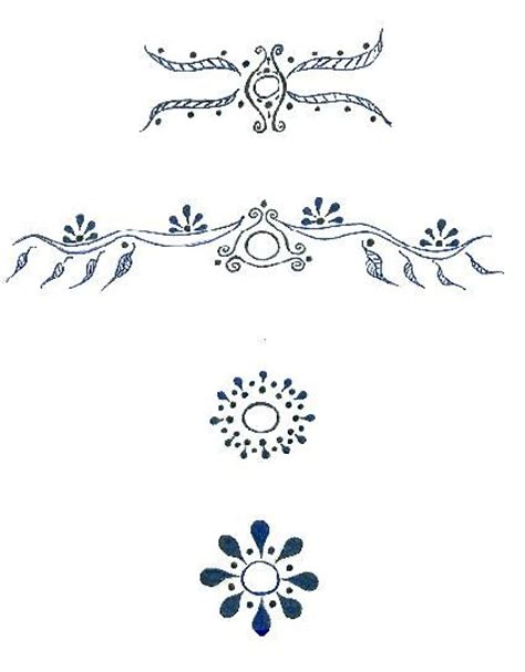 asymmetry tattoo designs tattoo henna pinterest