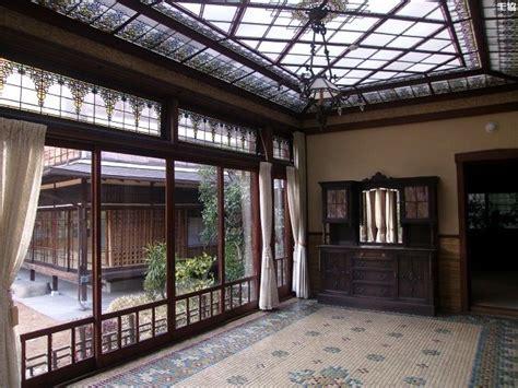 sunroom japan 起雲閣 洋館 玉姫 sunroom built in 1932 japan 日本食堂 pinterest