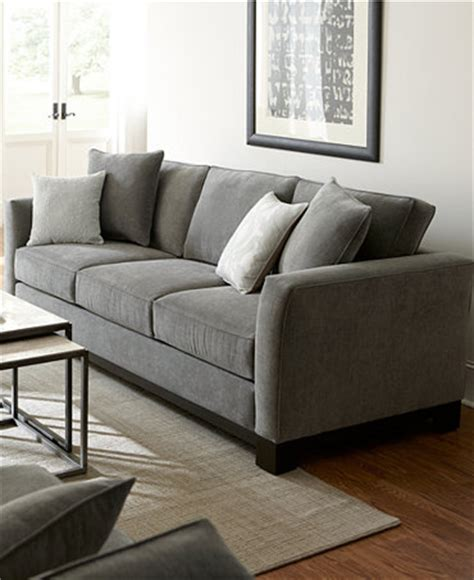 macys living room furniture kenton fabric sofa living room furniture collection