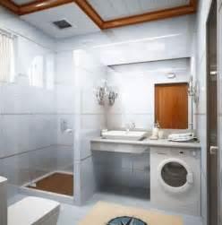 Small bathroom laundry room ideas